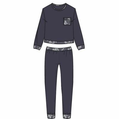 Lords & Lilies pyjama Graphite